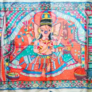 Madhubani Paintings of Lord Ganesha