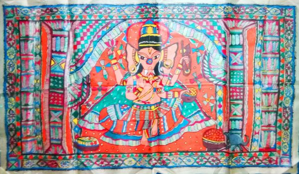 Madhubani Paintings of Lord Ganesha