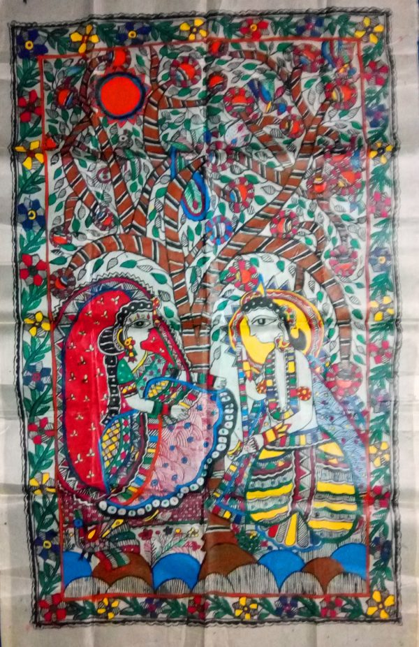 Madhubani Paintings of Rama Sita