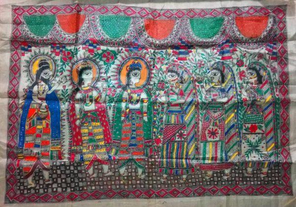 Madhubani Paintings of Ramayana