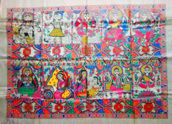 Madhubani Paintings of God Goddess