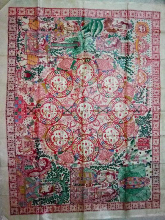 Madhubani Kohbar Painting - Madhubani Paintings Online
